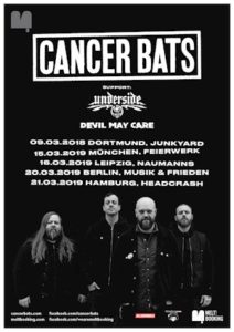CANCER BATS - Tour + neues Video (inside out)