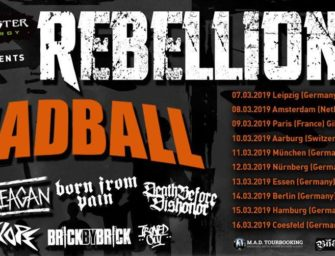 Rebellion-Tour 8 – Die tägliche Portion Brett