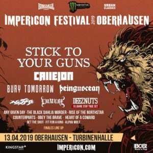 Impericon Festival Oberhausen 2019 - Finales LineUp