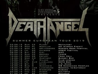 Death Angel – Tour Update