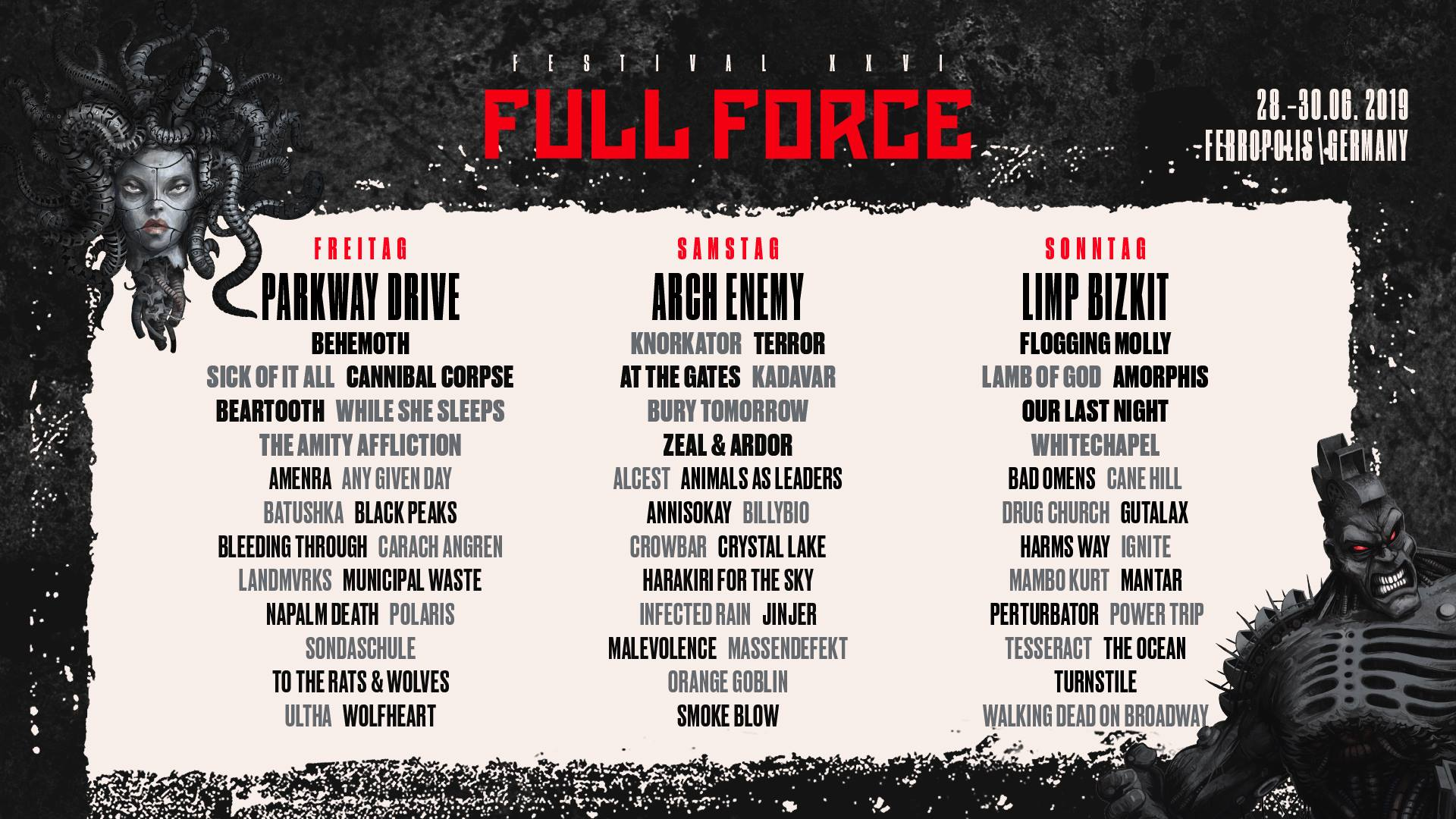 With Full Force Line Up 2021
