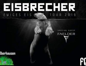 Gewinnspiel: 1×2 Tickets für Eisbrecher in Oberhausen