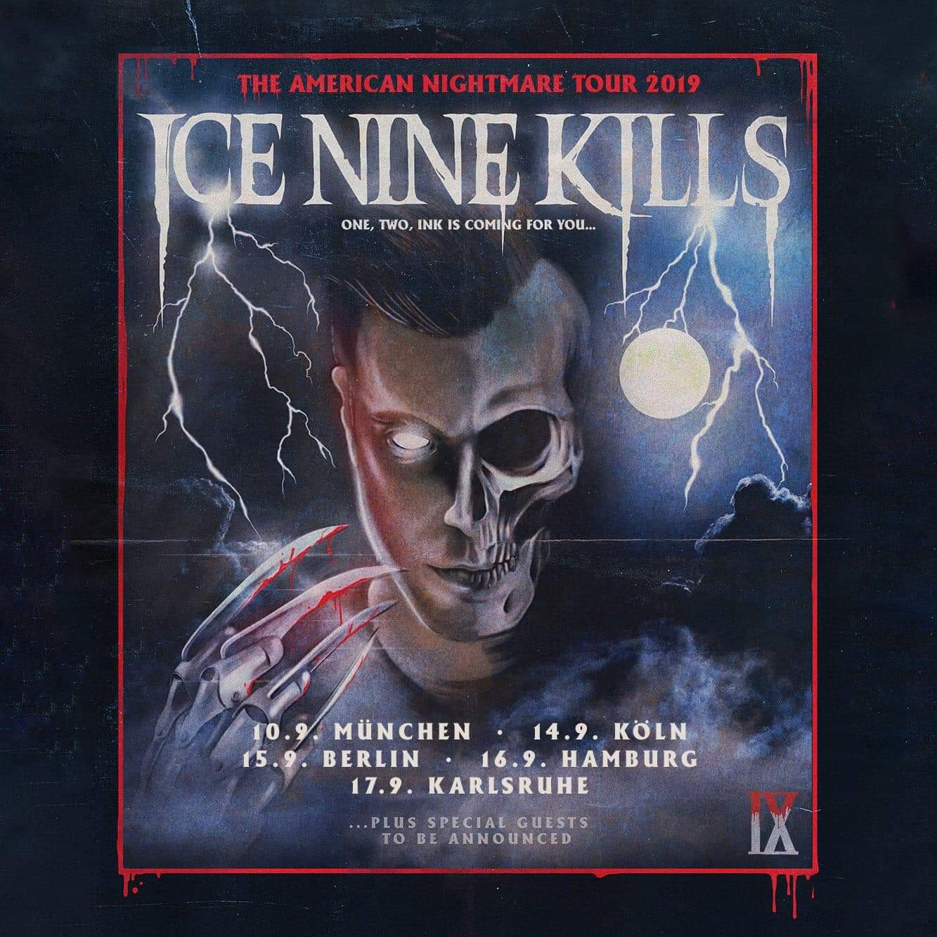 Ice Nine Kills - Fünf Konzerte in Deutschland