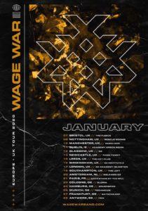 TOUR: WAGE WAR EUROPEAN TOUR 2020