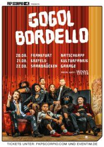 TOUR: GOGOL BORDELLO DREI TERMINE IN DEUTSCHLAND