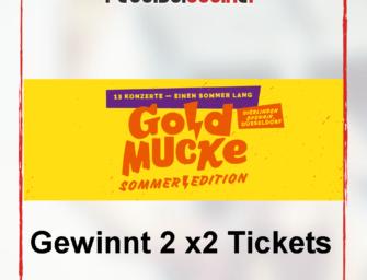 Gewinnspiel 2×2 Tickets für die GoldMucke Sommer Edition