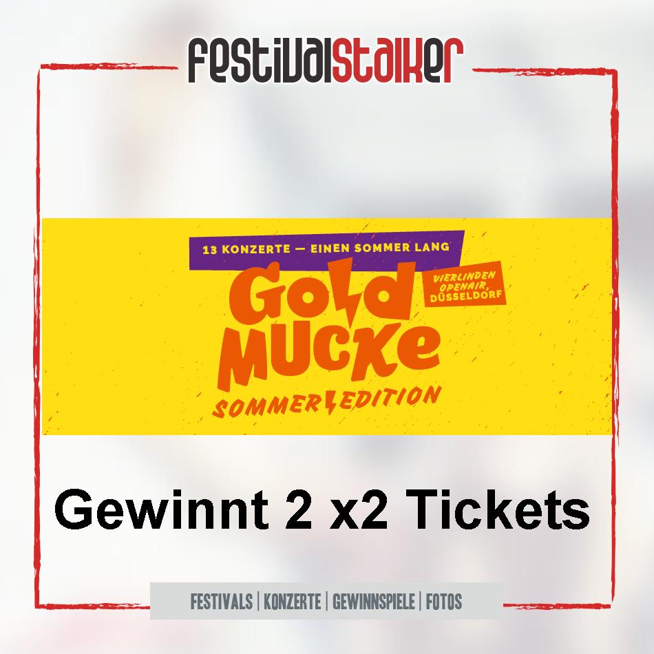 Gewinnspiel 2x2 Tickets für die GoldMucke Sommer Edition