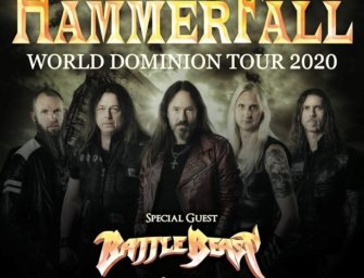 Tour: Hammerfall – World Dominion Tour 2020