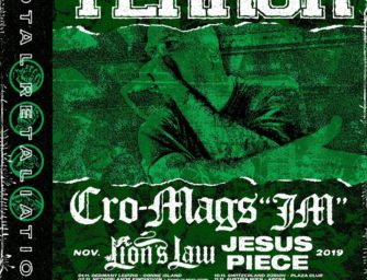 "Tour: Terror, Cro Mags ""JM"", Lion's Law, Jesus Piece"
