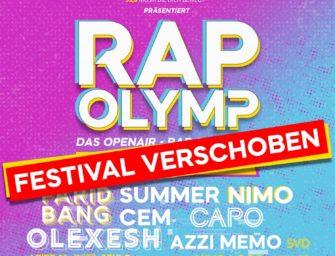 Update: Rap Olymp verschoben