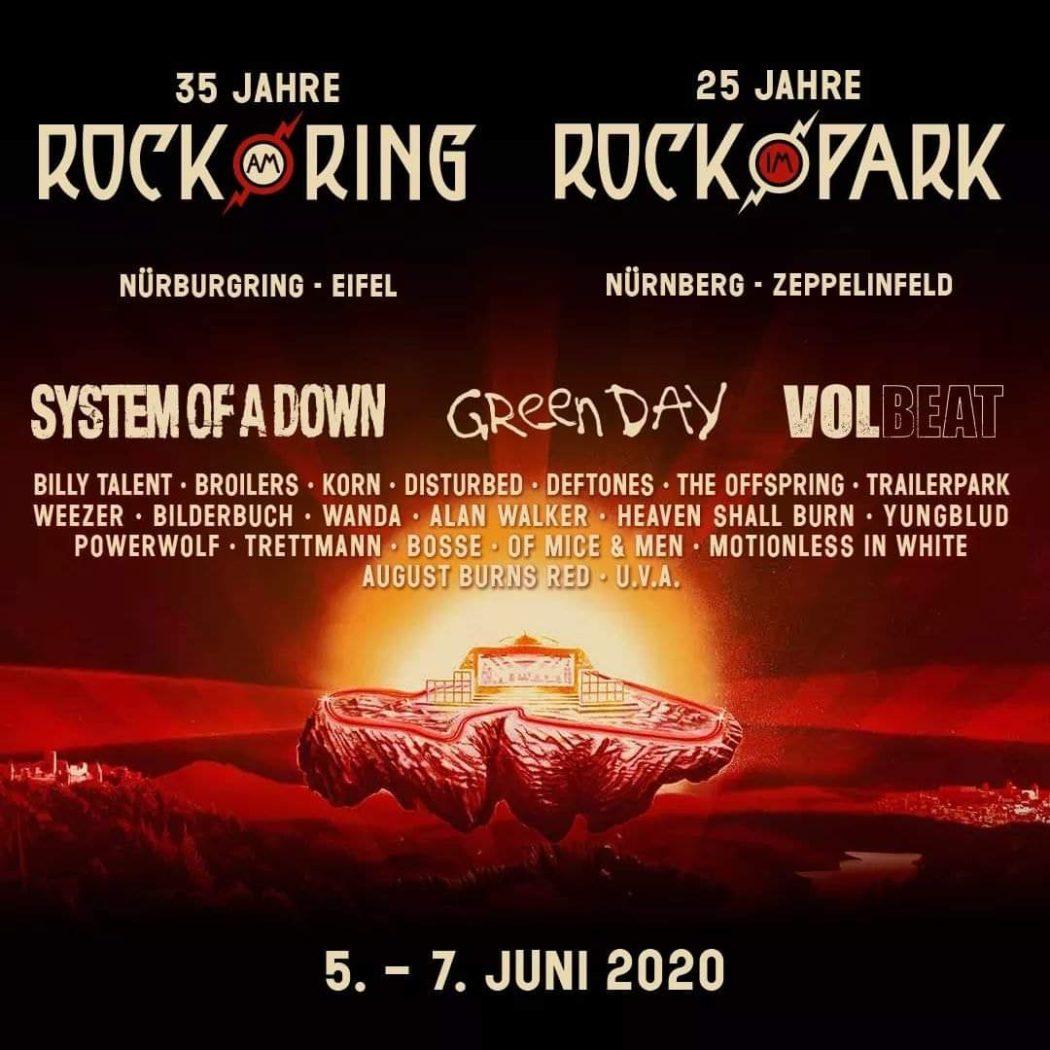 Rock am Ring und Rock im Park verkünden erste Bandwelle