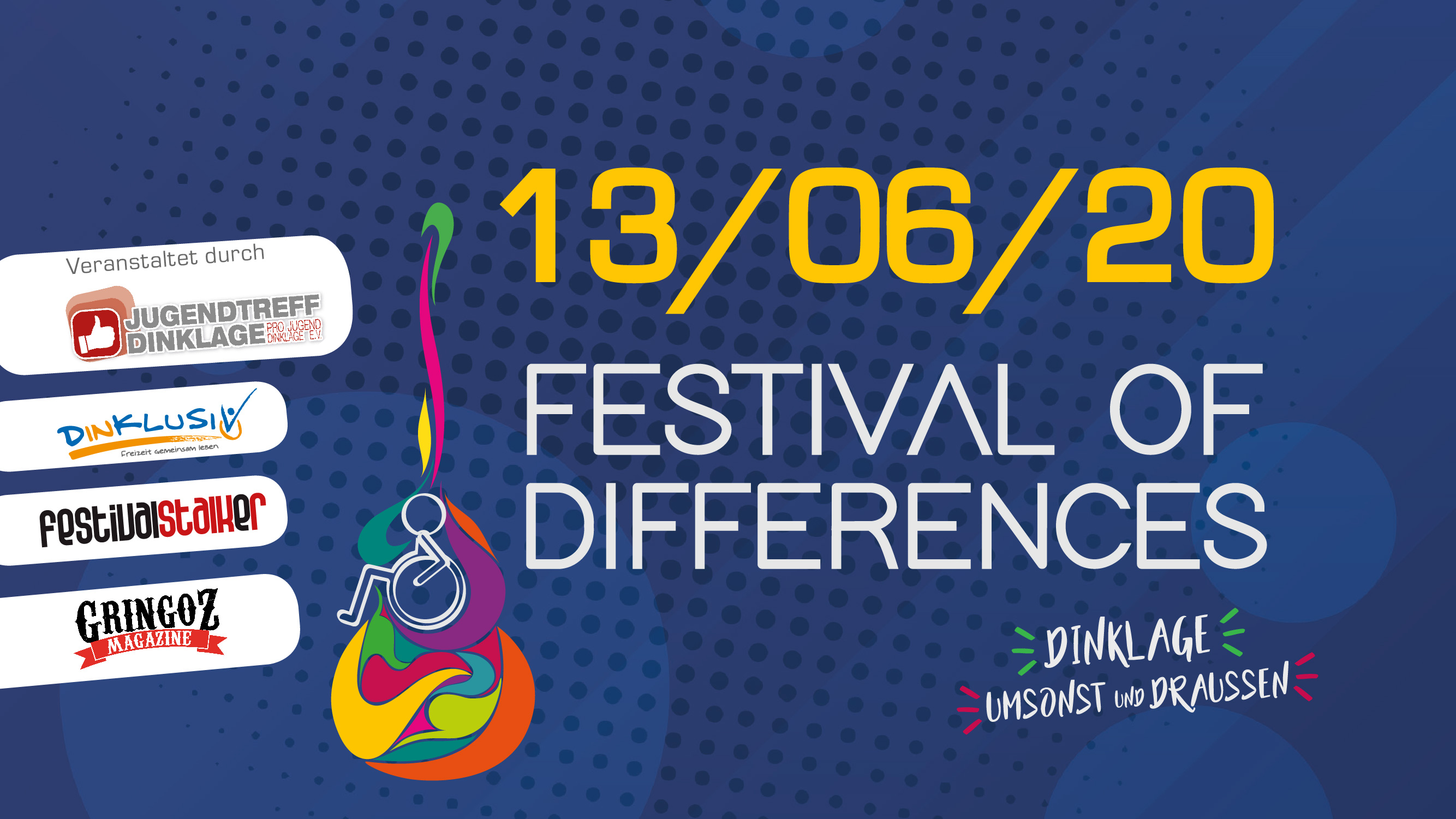 Festivalstalker kooperiert mit Festival of Differences