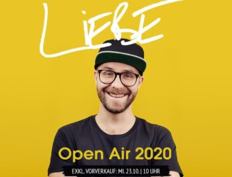 Tour: Mark Forster – Liebe Open Air 2020
