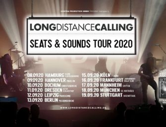 Tour: Long Distance Calling auf SEATS AND SOUNDS TOUR 2020