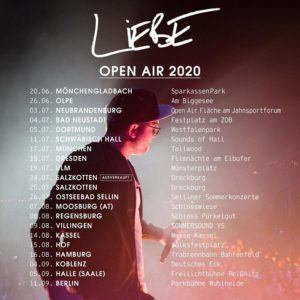 Tour: Mark Forster - Liebe Open Air 2020