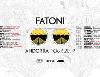 "Fatoni mit ""Andorra"" auf Tour"