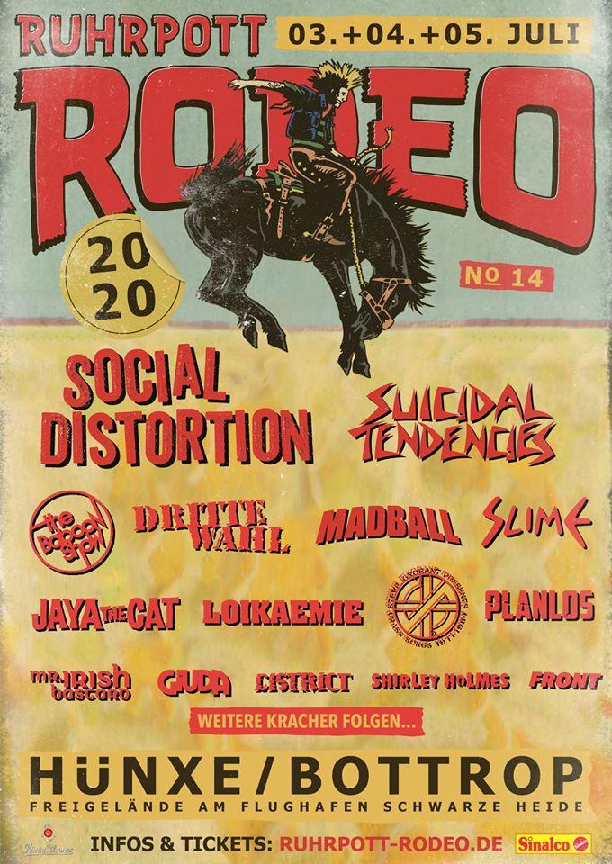 Festival: Ruhrpott Rodeo mit Bandwelle