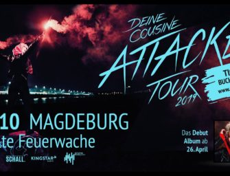 Konzertreview: Deine Cousine // 30. Oktober 2019 // Magdeburg