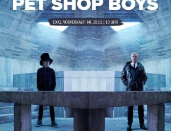 Tour: Pet Shop Boys – Tour 2020