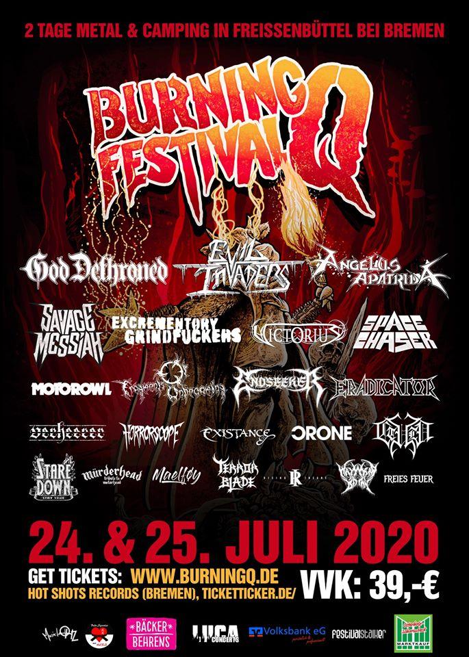 Burning Q Festival 2020 wird von dem Festivalstalker Präsentiert