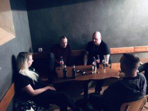 Im Gespräch mit Goitzsche Front zum Tourauftakt in Magdeburg
