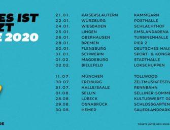 Konzertreview: Bosse – Alles ist jetzt Tour in Oberhausen