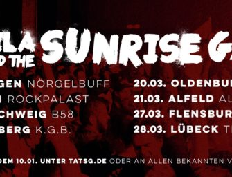 Tequila and the Sunrise Gang Tour 2020 – Support steht
