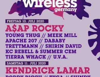 Wireless Festival 2020 in Frankfurt am Main