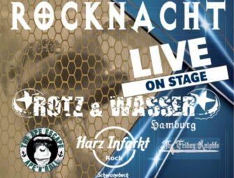 1. Rocknacht 2020 in Schwanebeck