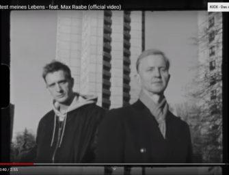 Kummer und Max Raabe im Video zu Der Rest meines Lebens