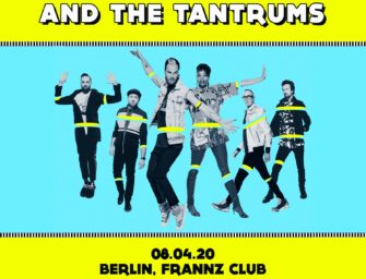 FITZ AND THE TANTRUMS kommen nach Deutschland