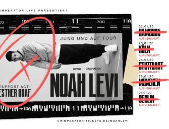 Zu Gast im Maze bei Noah Levi