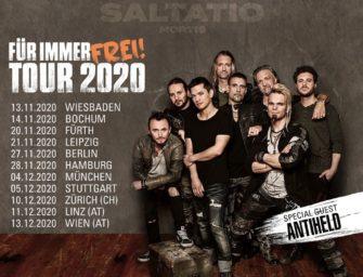 Saltatio Mortis gehen im Herbst auf Tour und Antiheld sind als Support dabei