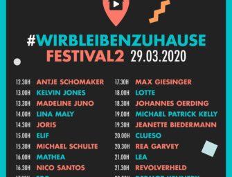 Wir bleiben Zuhause Festival 2