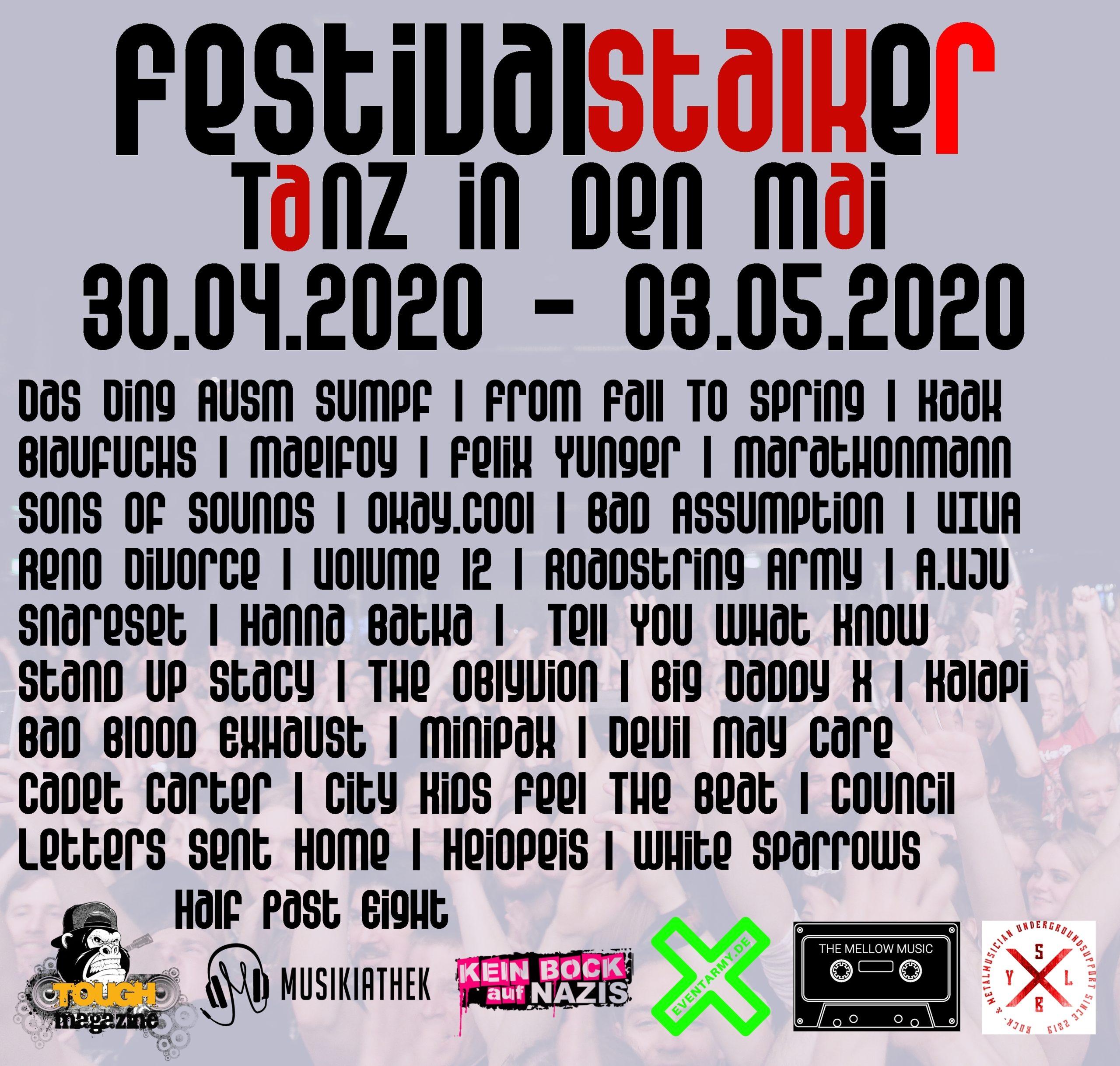 Festivalstalker Tanz in den Mai Festival Der Festivallivestream