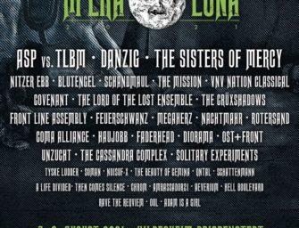 Die Acts beim Mera Luna Festival halten Ihre treue für 2021