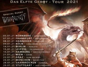 Feuerschwanz kommen mit neuem Album Das elfte Gebot auf Tour