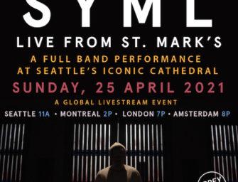 """SYML EP """"DIM"""" erscheint am 16.04.21 Livestream aus der St. Mark's Cathedral am 25.04.21"""