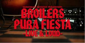 BROILERS Album »PURO AMOR« erschienen, großes Streamingkonzert »LIVE & LOUD« am 1. Mai!