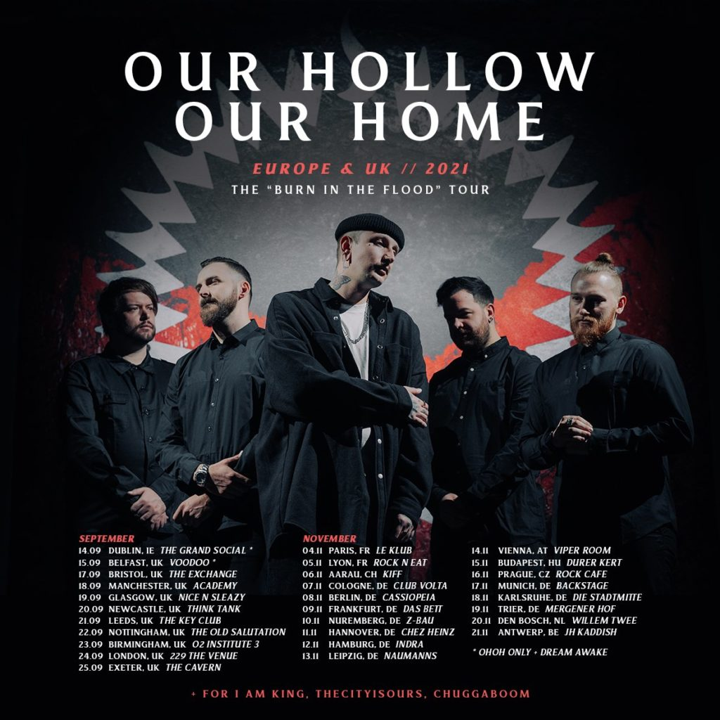 """Album-Review """"Our Hollow, Our Home"""" - """"Burn in the Flood"""""""